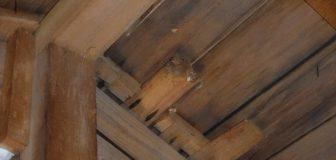 スズメバチ駆除 枚方市 個人宅 天井裏の駆除処理後
