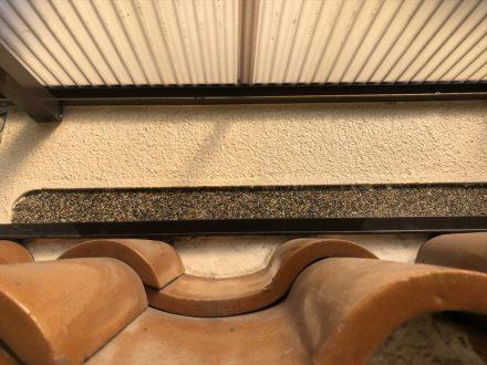 アシナガバチ駆除 京都市北区 個人宅 1階軒下の処理後写真(拡大)