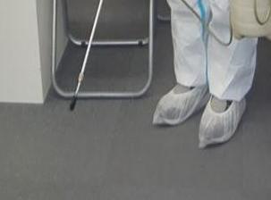新型コロナウイルス消毒除菌 城陽市 事務所の処理後写真(2)
