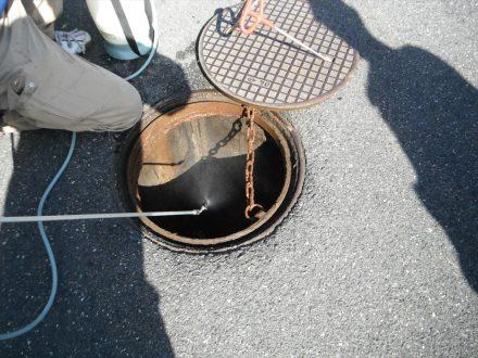 奈良市・マンションのゴキブリの定期防除の事例の処理後写真(拡大)