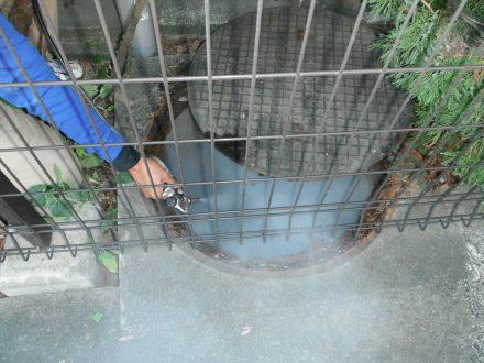 奈良市・マンションのゴキブリの定期防除の事例の処理前写真(2)