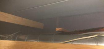 消毒作業 堺市東区 個人宅 天井裏 の駆除処理後