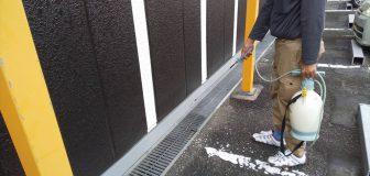ノミ駆除 奈良市 店舗 建物内・外部の写真