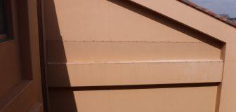摂津市・学校の防鳩ネット施工とスパイク設置の事例の駆除処理後