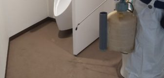 新型コロナウイルス消毒除菌 池田市 事務所の写真