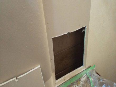 大和高田市・個人宅のイタチ駆除の事例の処理前写真(2)
