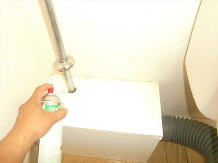 伊丹市・マンション(個人宅) のゴキブリ防除の事例の処理前写真(3)