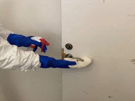 新型コロナウイルス消毒除菌 堺市北区 事務所の処理前写真(3)