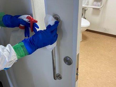新型コロナウイルス消毒除菌 堺市北区 事務所の処理前写真(2)