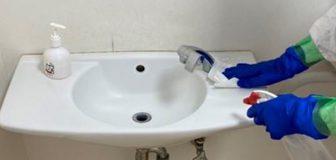 新型コロナウイルス消毒除菌 堺市北区 事務所の写真