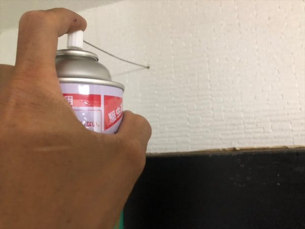 シバンムシ駆除 三田市 個人宅 キッチン画像