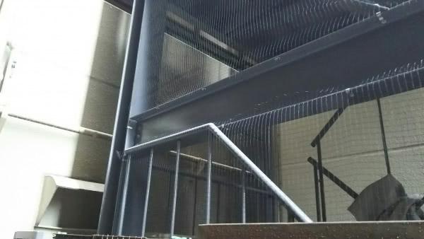 侵入対策 神戸市北区 管理会社 ビル階段画像