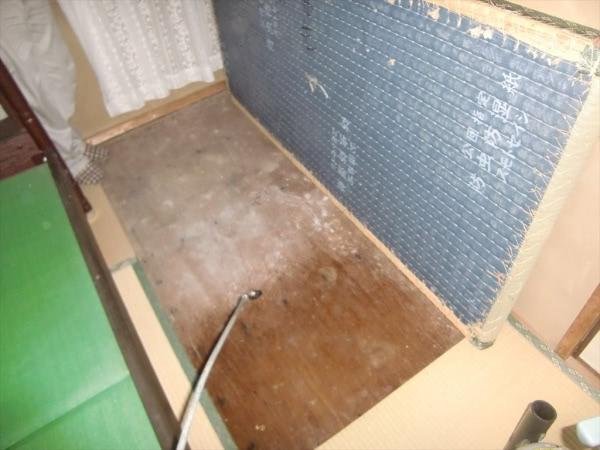 ダニ駆除&畳下のカビ取り 川西市猪名川町 個人宅 和室画像