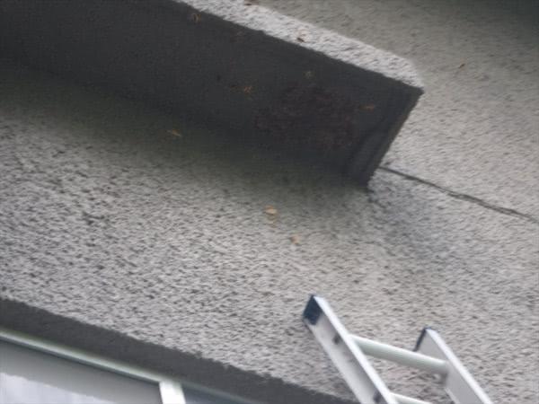 スズメバチ駆除 三田市 宿泊施設 3階軒下 画像
